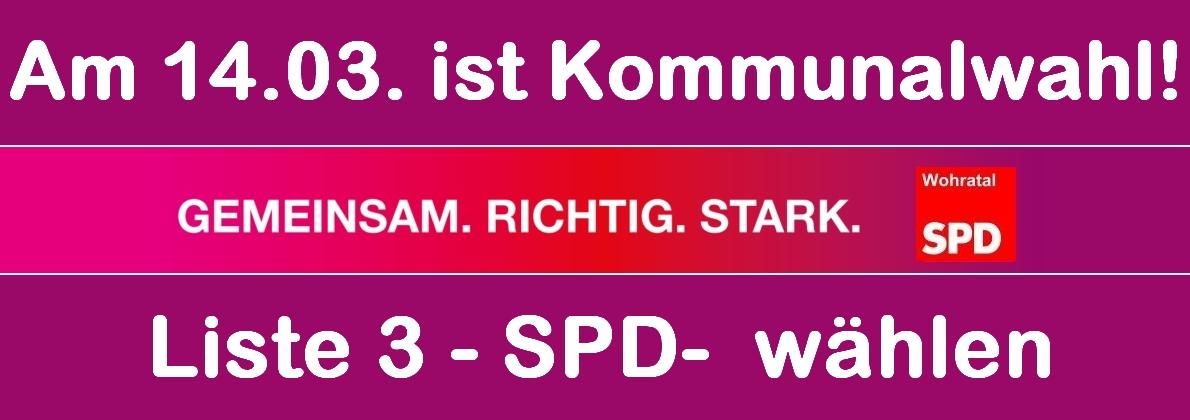 SPD Wohratal